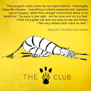 The Zebra Club - Ehlers-Danlos Syndrome Exercise